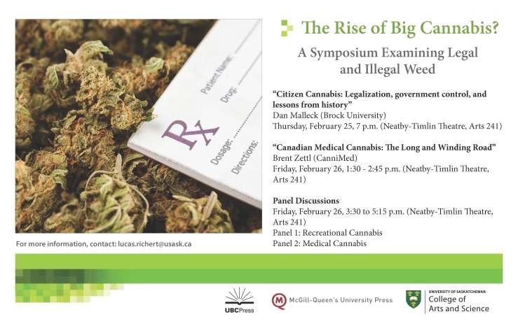 Cannabis Symposium Poster
